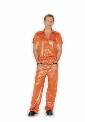 Male Inmate Holiday Party Costume