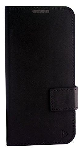 Mucho Panasonic Eluga Icon Flip Case (Matte Black)