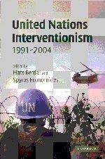 United Nations Interventionism, 1991-2004 (LSE Monographs in International Studies)