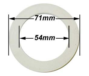 6 Cup Espresso Coffeemaker Replacement Gasket from Cuisinox