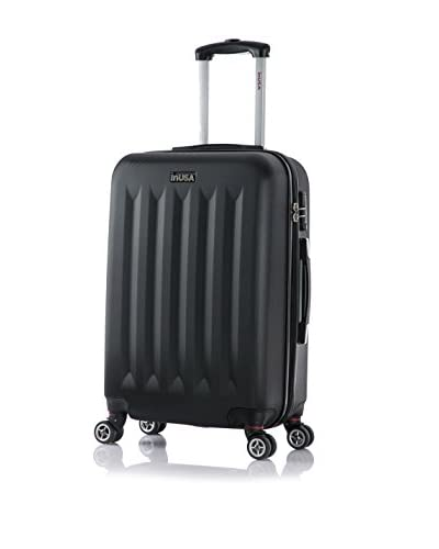 InUSA Philadelphia 22 Medium Hardside Luggage, Black