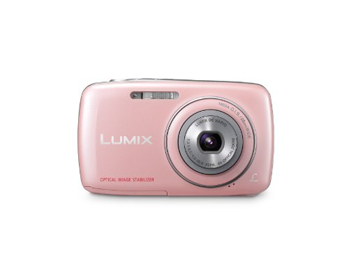 Panasonic Lumix DMC-S1 12.1 MP Digital Camera with 4x Optical Image Stabilized Zoom with 2.7-Inch LCD (Pink)