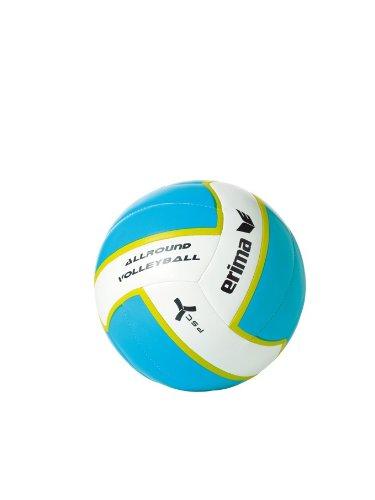Erima Allround Volleyball aqua/weiß, 5