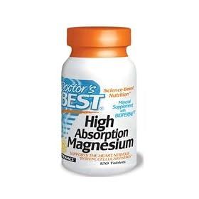 Doctors Best High Absorption Magnesium 高吸收氨基酸螯合镁元素240片SS价12.86刀