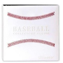 White Stitched Baseball Card Collectors Album (3