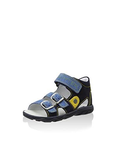 Richter Kinderschuhe Sandalo Flat [Blu]