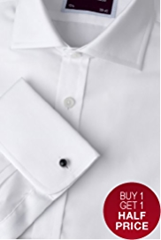 2in Shorter Sartorial Pure Cotton Shirt