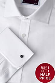 Sartorial Pure Cotton Plain Shirt