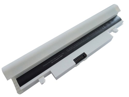 White Battery For SAMSUNG NP-N150-HAV1US NP-N150-JA01US NP-N150-JA02AT NP-N150-JA02ES NP-N150-JA02ZA NP-N150-JA03 NP-N150-JA03ES NP-N150-JA03US NP-N150-JA04AE NP-N150-JA04ES NP-N150-JA04US NP-N150-JA06UK NP-N150-JA06US NP-N150-JA08US NP-N150-JA09US NP-N15