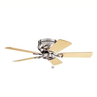 Kichler Lighting 339017BSS Stratmoor Ceiling Fan, Brushed Stainless Steel