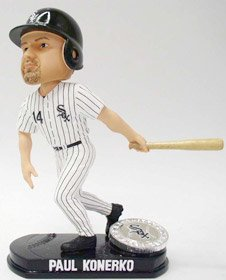 Chicago White Sox Paul Konerko Forever Collectibles Blatinum Bobble Head at Amazon.com