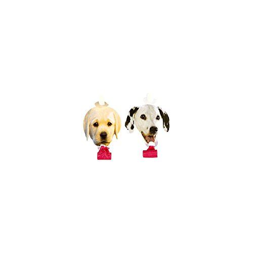 Puppy Party Blowers (8-pack) - 1