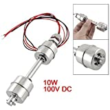 Wired Liquid Level Sensor Dual Ball Stainless Steel Float Switch