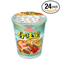 Nissin Authentic HK Japanese InstanT Ramen Cup Noodles Soup (24 Packs) by Nissin