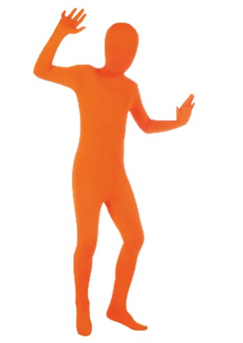 Orange Full Body Suit - Children's Large