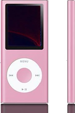 Full Metal Platinum - MP4 Player 1.8 inch LCD 2GB - Pretty Pink