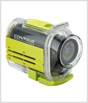 Contour GPS HD Helmet Video Camera Underwater Waterproof Housing, (Rated up to 60 m)