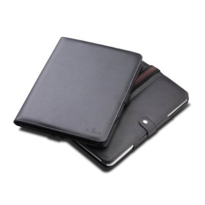 CTCstore Leather Flip Book Jacket/folio for Apple Ipad 3g Tablet/wifi Model 16gb, 32gb, 64gb (Black) from CTC