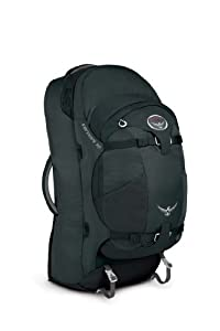 Osprey Farpoint 70 Travel Backpack, Charcoal Gray, Small/Medium