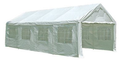 13 x 26 HEAVY DUTY Party Tent Canopy Gazebo with Sidewalls 009
