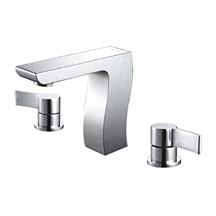 Kraus KEF-14603CH Sonus Three-hole Basin Bathroom Faucet Chrome