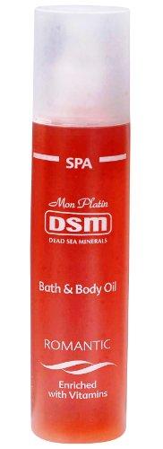 Mon Platin Dsm Bath&Body Oil Romantic Enriched With Vitamins 250Ml/8Oz Dead Sea