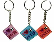 Ddi I Love Soccer Key Chain (Pack Of 60)