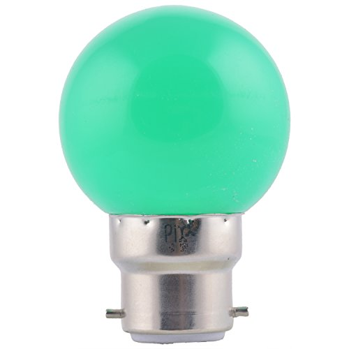 0.5W LED Night Lamp (Green, Pack of 6)
