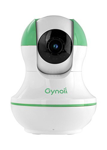 Big Save! Gynoii WiFi Wireless Pan-Tilt Video Baby Monitor with HD Infrared Night Vision, Two Way Au...
