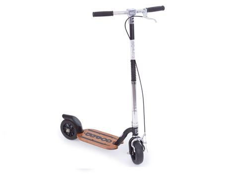 Go-Ped Super Grow-Ped Kick Scooter (Sinister Black)
