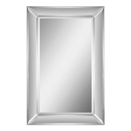 Ren-Wil Mt1133 Aubrey Wall Mount Mirror By Jonathan Wilner, 34 By 22-Inch front-1010880