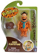 Hanna Barbera Flintstones 3 Inch Action Figure - Fred Flintstone