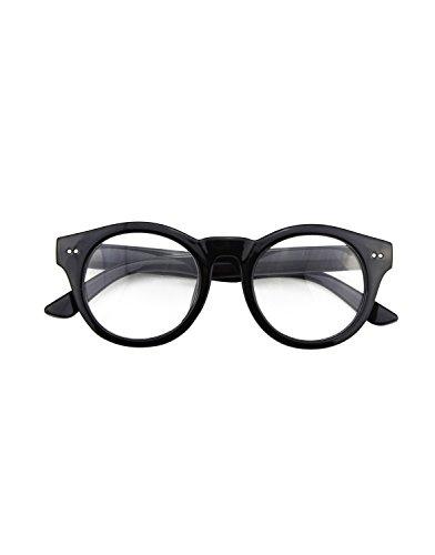 cgid-cn85-retro-clubmaster-wayfarer-anteojos-lente-claro-gafas-para-mujer-y-hombrenegro-brillante