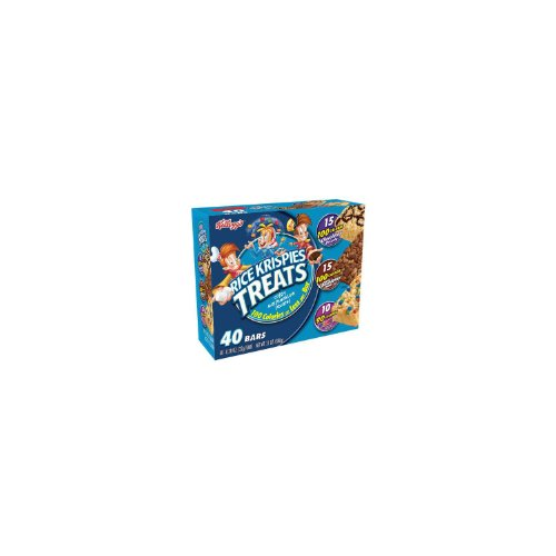 Rice Krispies Treats 3-Flavor Variety Pack, 40-Count Treats