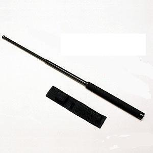 New 16″ Expandable Steel Baton with Holster