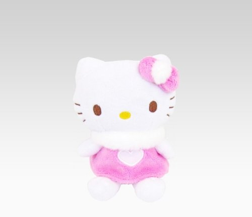 Hello Kitty Pink Heart Dress Mascot Plush: Spring - 1