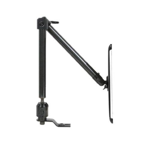 The Joy Factory Valet2 Versatile In-car Retractable Carbon Fiber Seat Bolt Mount for iPad 2 - Black (AAB109)