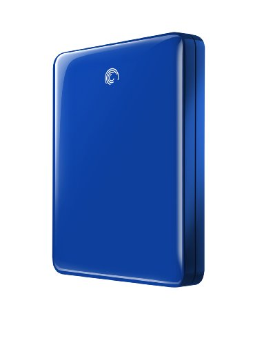 Seagate FreeAgent GoFlex 1 TB USB 3.0 Ultra-Portable External Hard Drive in Blue STAA1000102