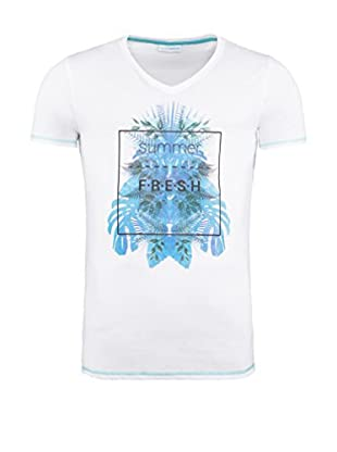 SUMMERFRESH Camiseta Manga Corta Cliff (Blanco)