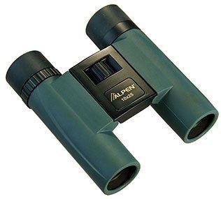 Alpen Optics Sport 10X25 Green Rubber Armored Compact Binocular