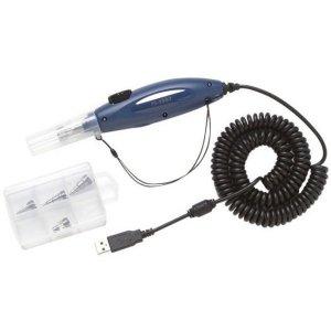 Fluke Networks FI-1000-KIT LC, FC/SC Bulkhead Adapter Tip Kit, 1.25 and 2.5 mm Universal Tips for the FI-1000 Fiber Inspection Video Probe