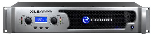 Crown XLS1500 Power Amplifier with integrated PureBand Crossover System and PeakX Limiters