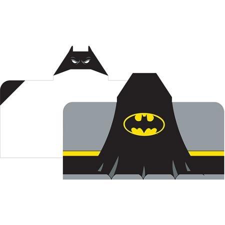 Batman Logo Hooded Beach Towel Wrap front-384640