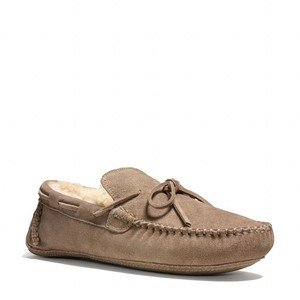 Coach   Coach Owen Slipper Suede Putty Size 12m