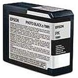 Epson UltraChrome K3 Ink Cartridge - 80ml Photo Black (T580100)
