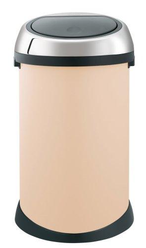 Brabantia Touch Bin, 50 Litre, Almond