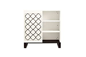 Twinkle Changer Chest in Two Tone, Espresso and White