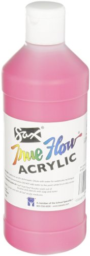 Sax True Flow Medium-Bodied Acrylic Paint - Pint - Phthalo Red