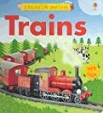 img - for Trains Lift and Look (Usborne Lift and Look) book / textbook / text book