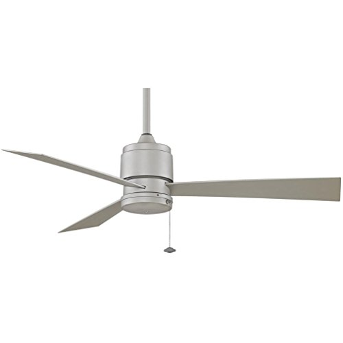 Fanimation Zonix 52 Inch Outdoor Ceiling Fan - Satin Nickel (Ceiling Fan Zonix compare prices)